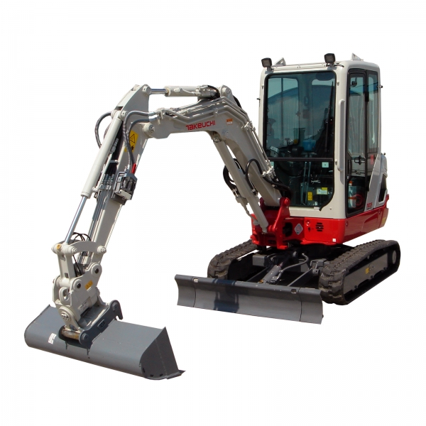 2,5t Takeuchi TB 225 Mini- Bagger
